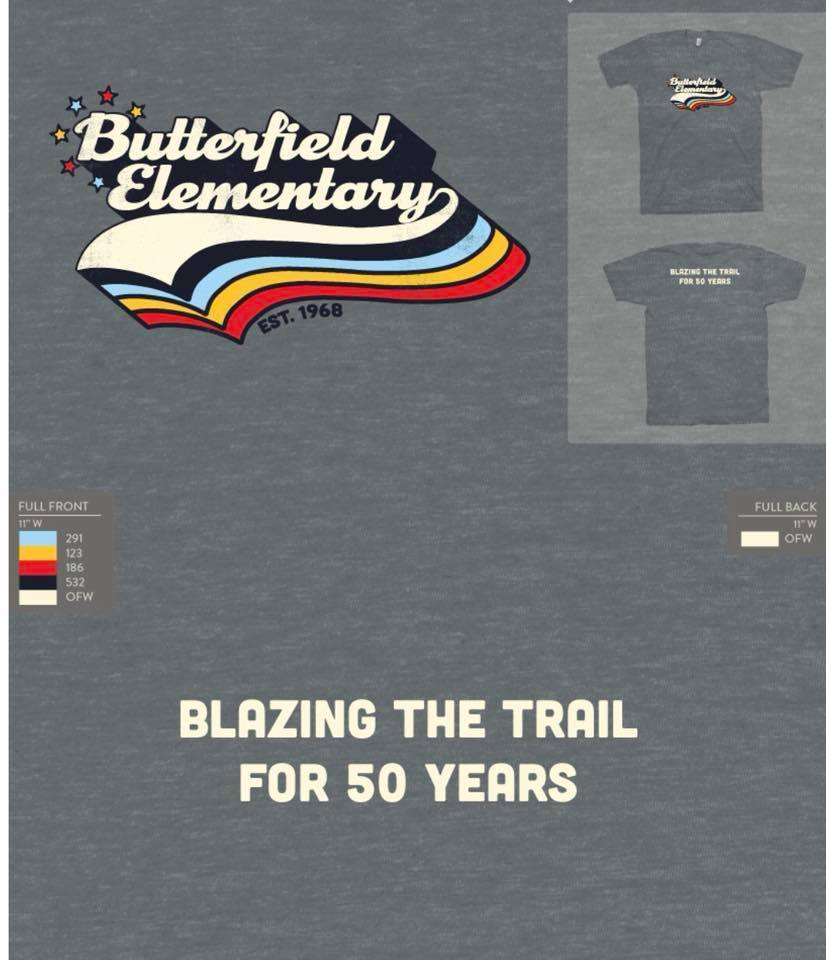 Get your Butterfield Shirt Online!