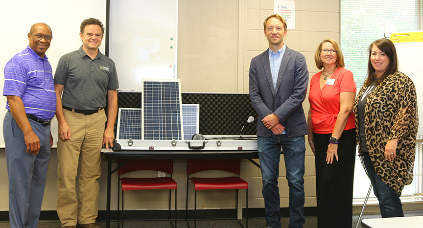 Entegrity Donates Solar Energy Education Kits