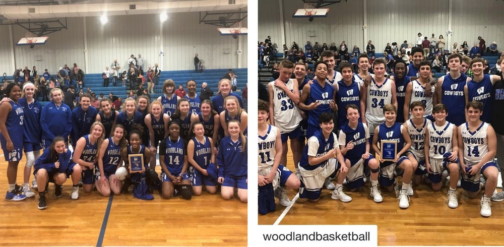 Big Win for Woodland Basketball