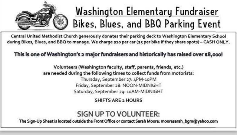 Bikes, Blues & BBQ School Fundraiser Needs You