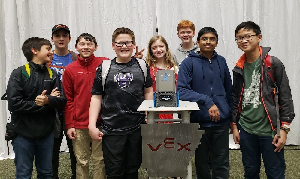 Congrats to Woodland Robotics