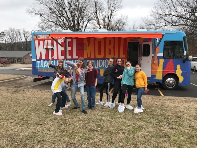 Wheel Mobile Visits Woodland