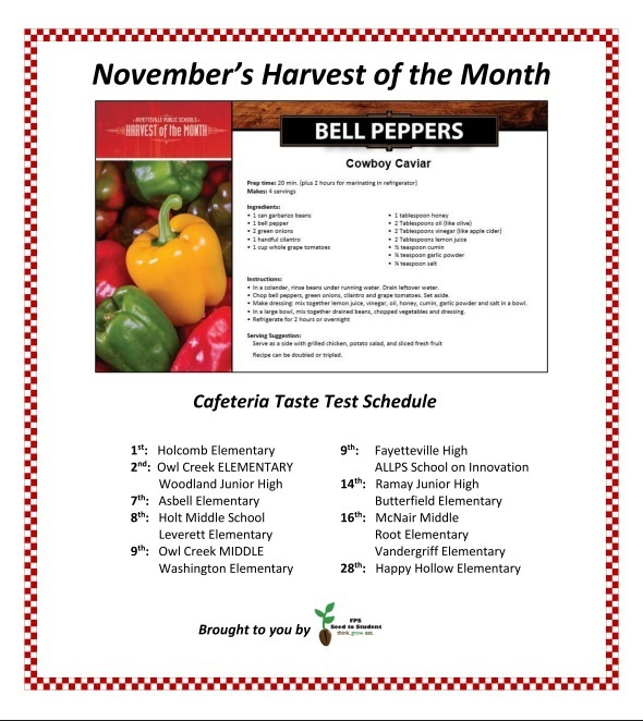 November Harvest of the Month