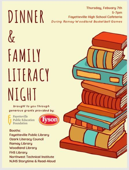 Dinner & Family Literacy Night
