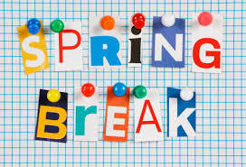 Spring Break is March 18th - 22nd