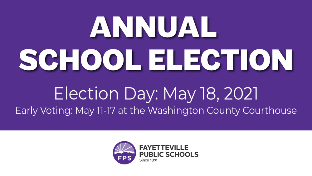 Annual School Election Set for May 18