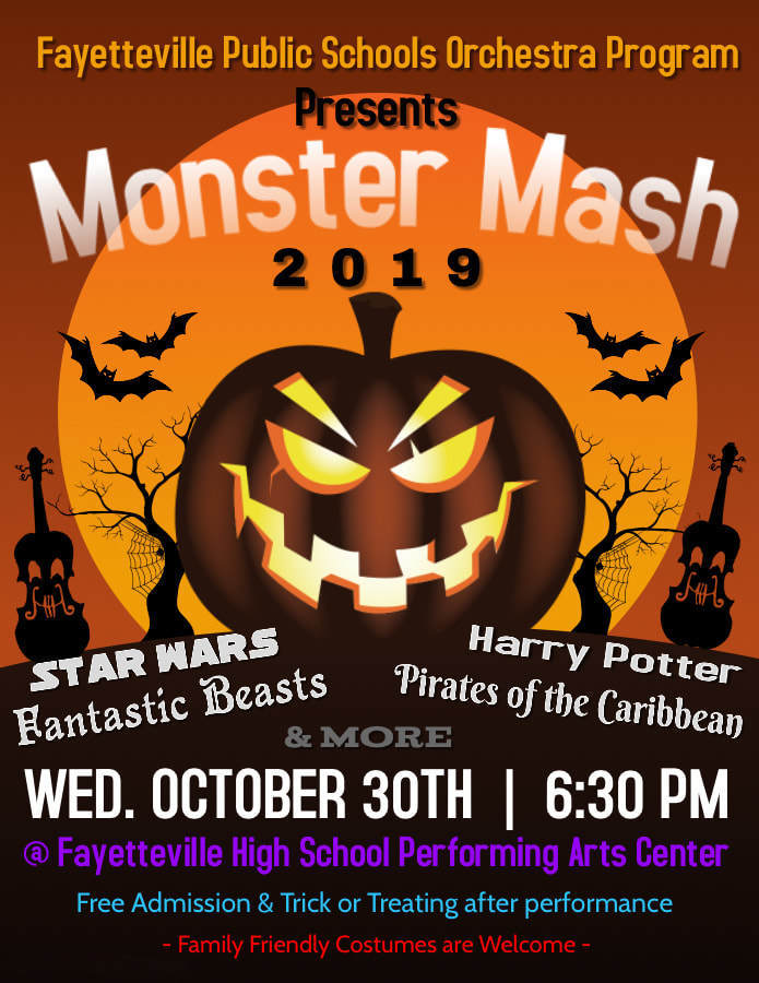FPS Orchestra Program Presents Monster Mash 2019 - Oct 30
