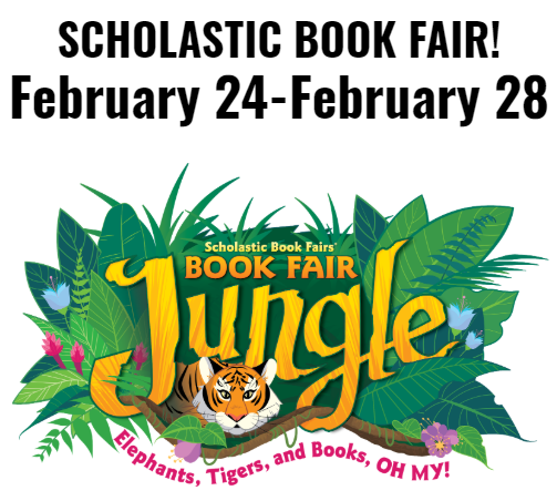 Butterfield Scholastic Book Fair is February 24 - 28
