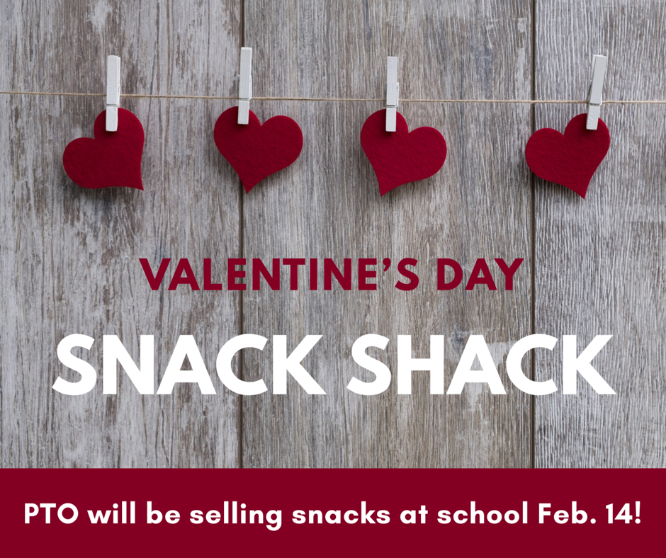 Valentine's Day Snack Shack