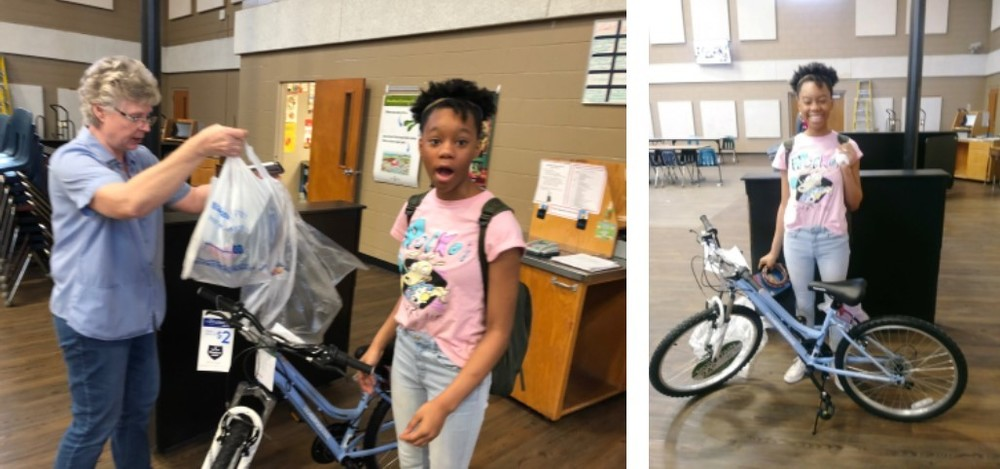 Breakfast Week Bike Giveaway Winner
