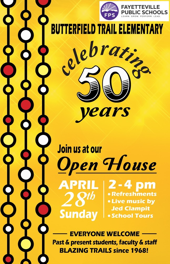 Butterfield 50th Celebration on April 28th, 2019