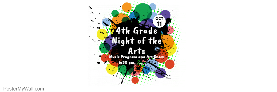 4th Grade Music Program and Art Show