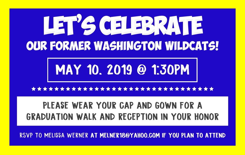 Former Wildcats class of 2019 are Invited to Join Our Senior Walk