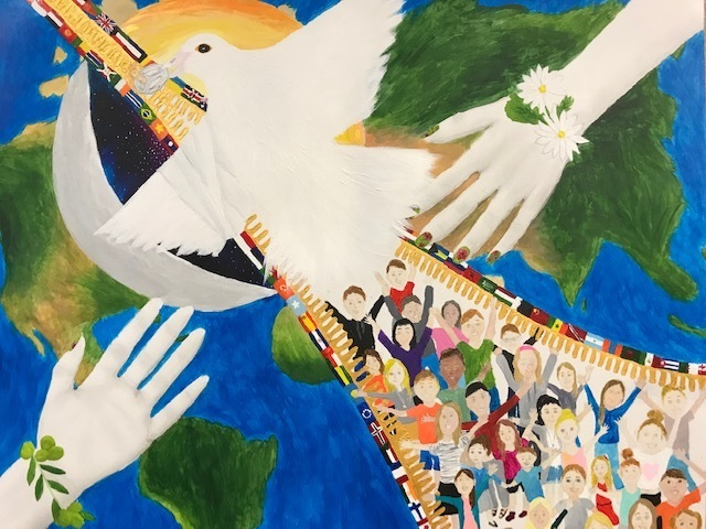 Woodland Student Wins Peace Poster Contest