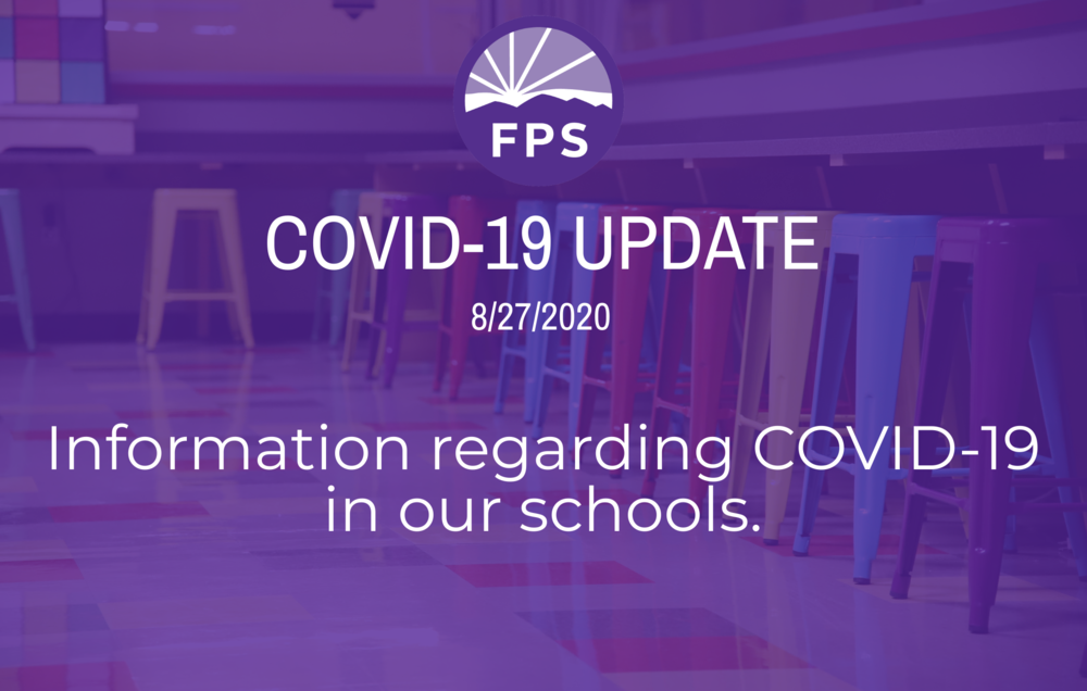 Information regarding COVID-19   in our schools.