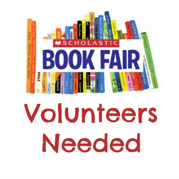 VOLUNTEERS NEEDED FOR BOOK FAIR