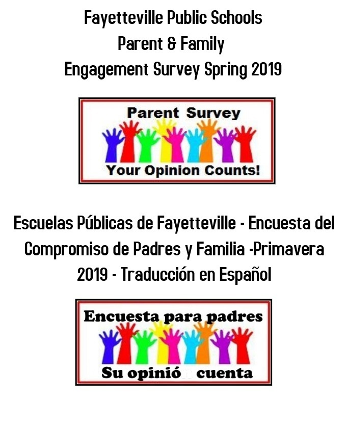 Sunday is last day to fill out Online Parent Survey - Your Opinion Matters!