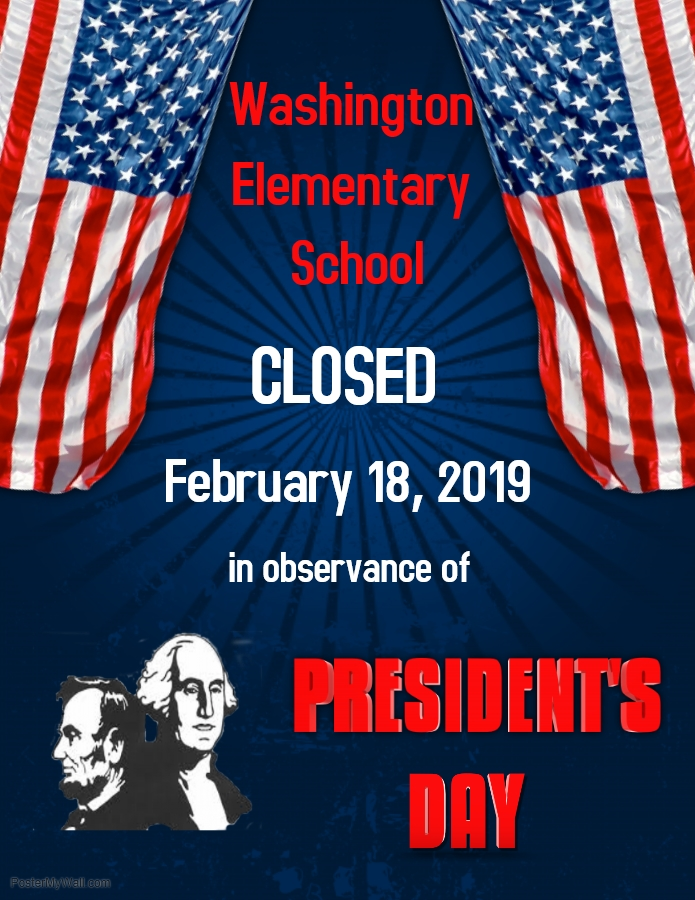 No school - President's Day