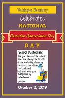 National Custodian Appreciation Day - October 2