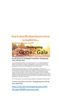 GONE WITH THE GALA - Our first ever!