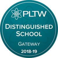 Woodland Jr High Recognized as PLTW Distinguished School