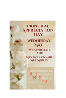 Principal Appreciation Day - May 1st