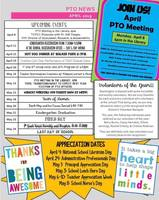 APRIL PTO Newsletter