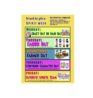 SPIRIT WEEK! - Oct. 28th - Nov. 1  -  Our United Way fundraiser