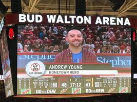 Meet Andrew Young our Razorback Hometown Hero