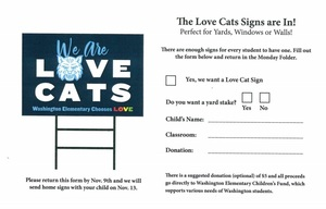 New Wildcat School Spirit Yard Signs Are Available