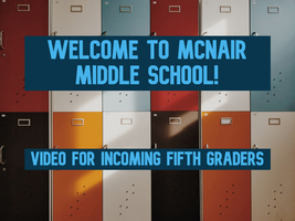Welcome To McNair!