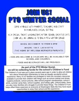 PTO Winter Social Invitation