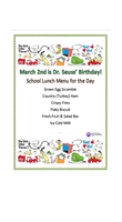 Dr. Seuss' Birthday Celebration at Washington - March 2nd