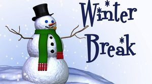 Winter Break is December 23rd - January 8th, classes will resume January 9th.