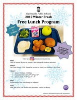 ​FPS 2019 Winter Break Free Lunch Program​
