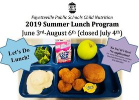 FREE SUMMER LUNCH PROGRAM