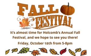Fall Festival Oct. 18th, 2019