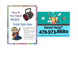 VIRTUAL TALENT SHOW  -  SHOW US YOUR TALENT!