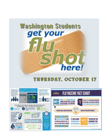 Student Flu Shots Thursday, October 17th