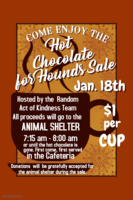 Hot Chocolate For Hounds Sale January 18th