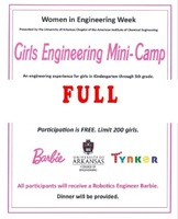 Girls Engineering Mini-Camp
