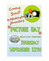 Picture Day - Thursday, Sept. 12