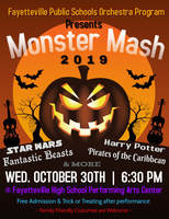 FPS Orchestra Program Presents Monster Mash 2019 on Wednesday, Oct 30th