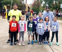 Washington Students Participated in the Hero Half Marathon Kids Run