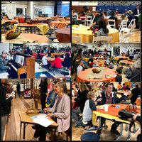 OUR ANNUAL SCHOOL THANKSGIVING LUNCHEON