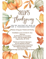 ALLPS Thanksgiving