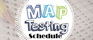 Middle of the Year Map Testing Schedule