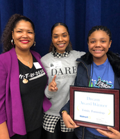 Congratulations to Trinity Tummings! MLK Essay Contest Winner!