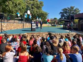 Washington Elementary New Playground Dedication