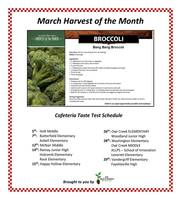 March Harvest of the Month